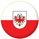 Tyrol Flag 25mm Flat Back